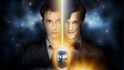 Doctor Who Smith Tennant cross poster