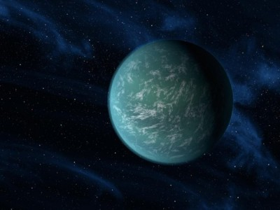 Kepler 22-b concept art