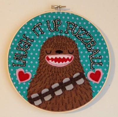 Star Wars Stitchery by Chelsea Bloxsom