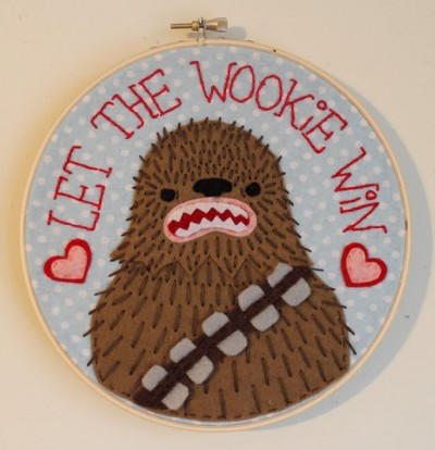 Star Wars Stitchery by Chelsea Bloxsom