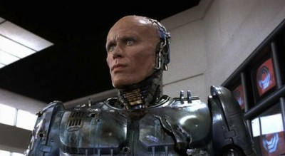 Peter Weller in Robocop back in 1987