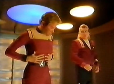A Vintage British Star Trek Advert for National Power Featuring William Shatner