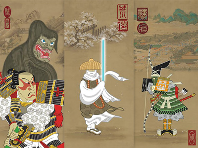 Samurai Star Wars Prints