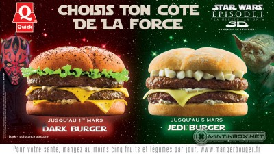 Star Wars burgers in France