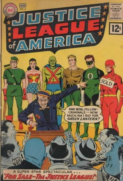 a comic book from january 1962