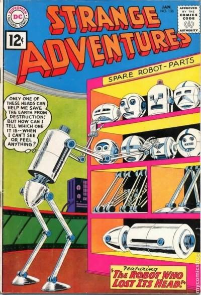 strange adventures jan 1962