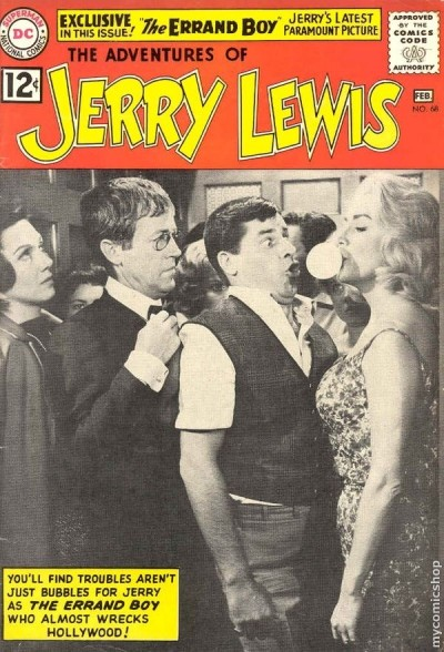 a jerry lewis comic book from jan 1962