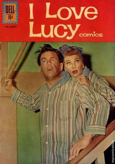 i love lucy comic book jan 1962