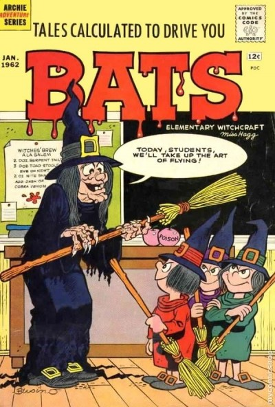 rats comic book cover jan 1962