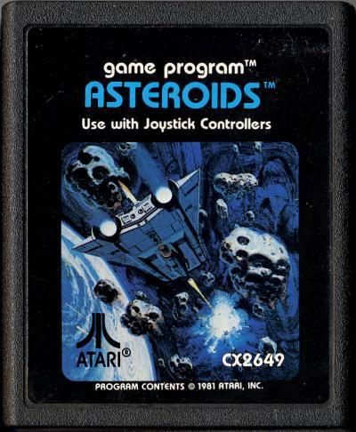 Asteroids 1981 Atari