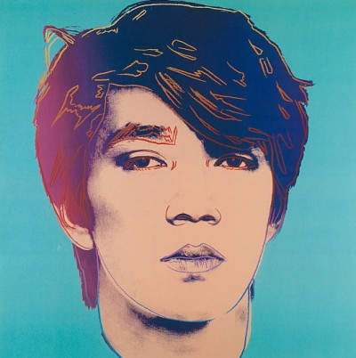 Ryuichi Sakamoto by Andy Warhol