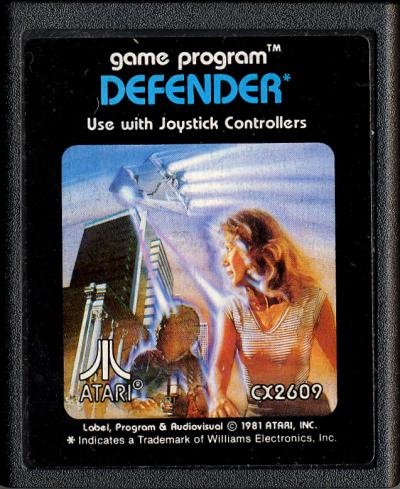 Atari Defender 1981