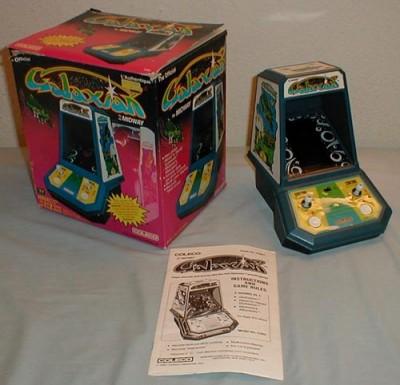Coleco Galaxian (1981, VFD, 4 C Batteries, Model# 2380)