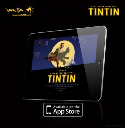 Tintin Artbook the app
