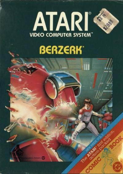Berzerk 1981 videogame