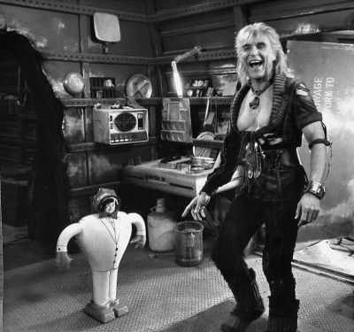 The Wrath of Fantasy Island: photo from the set of the Wrath of Khan w Ricardo Montalbán reacting to a Hervé Villechaize blow up doll