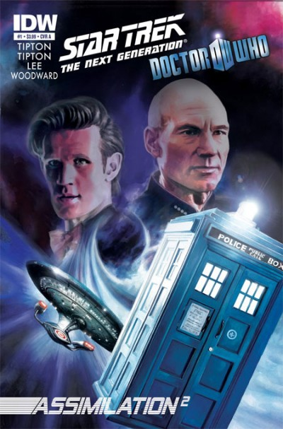 Star Trek, Doctor Who Crossover Cover #1