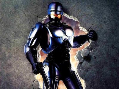 Robocop Wall