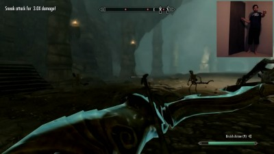 Skyrim Kinected mod 2