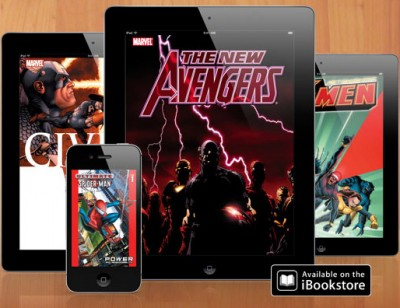 Marvel Digital Graphic Novels iBooks