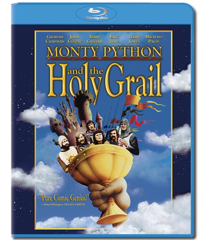 Monty Python and the Holy Grail Blu-ray case