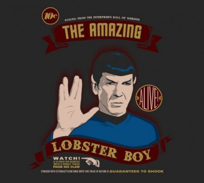 Spock Lobsterboy