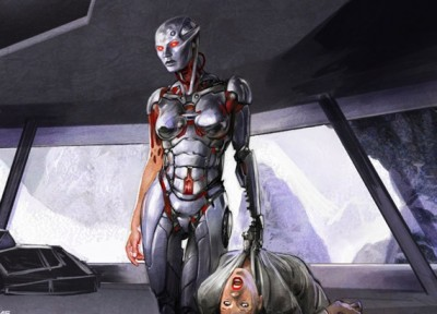 Battlestar Galactica: Blood & Chrome Concept Art