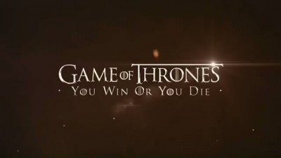 Game of Thrones You Win or You Die logo