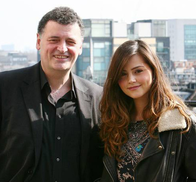 Jenna-Louise Coleman & Steven Moffat