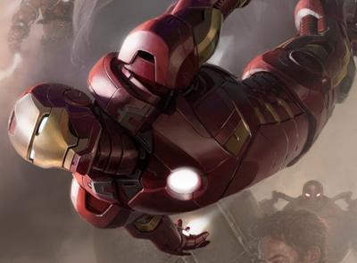 Iron Man Avengers Poster Crop