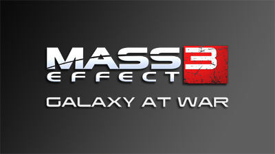 Mass Effect 3 Galaxy at War logo