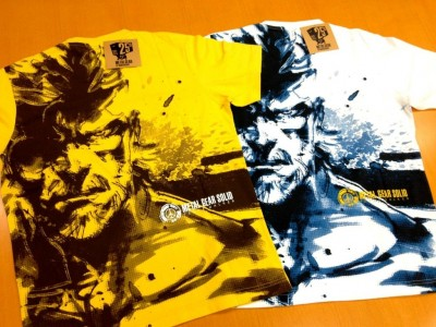 Metal Gear 25th Anniversary Uniqlo Shirts 1