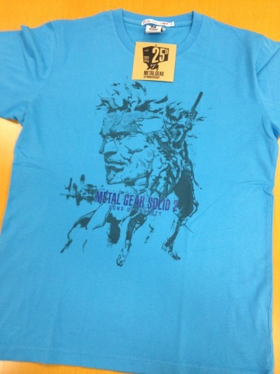 Metal Gear 25th Anniversary Uniqlo Shirts 3