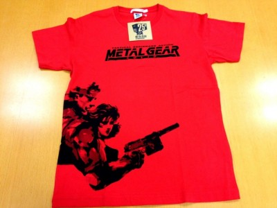 Metal Gear 25th Anniversary Uniqlo Shirts 2