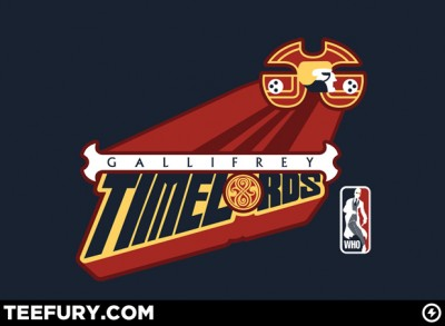 Gallifrey Timelords T-Shirt TeeFury
