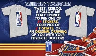 TeeFury Gallifrey Timelords Contest