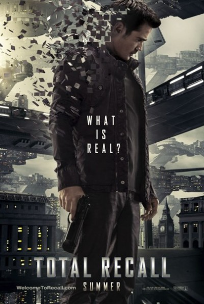 Total Recall 2012 poster