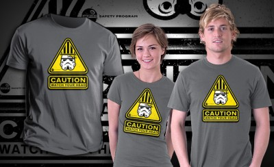 Stormtrooper Safety T-Shirt 02