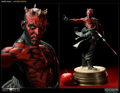 Star Wars Darth Maul Mythos Statue 01