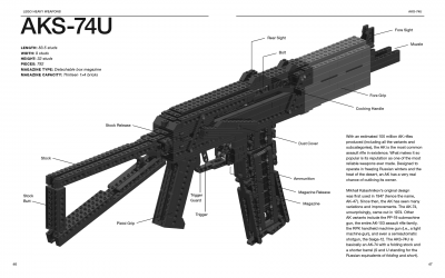Lego Heavy Weapons AKS-47U
