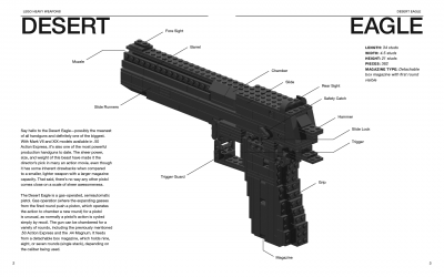Lego Heavy Weapons Desert Eagle
