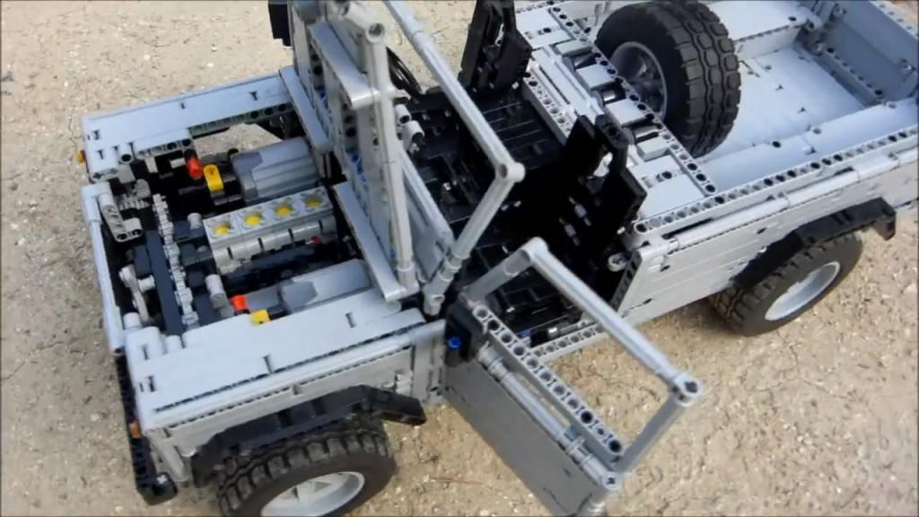 land rover defender 110 lego 05
