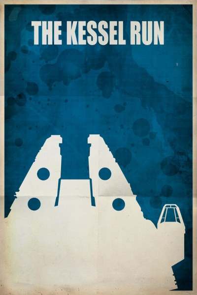 Kessel Run Travel Poster