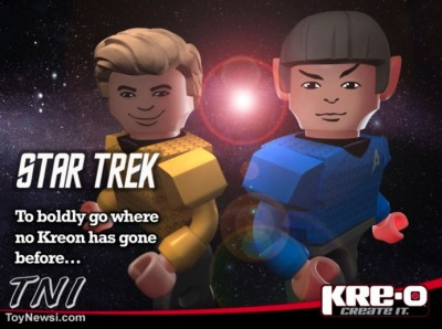 Star Trek Kre-o first teaser