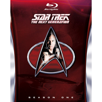 Star Trek The Next Generation Season one Blu-Ray HD