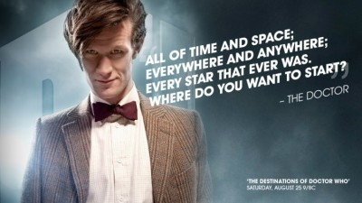The Destinations of Doctor Who