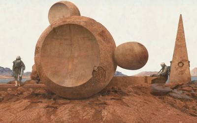 Mars: Adrift on the Hourglass Sea