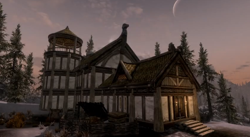 How Do You Build A House In Skyrim Xbox One