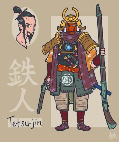 sengoku_avengers__iron_man_by_genesischant-d5aqew7