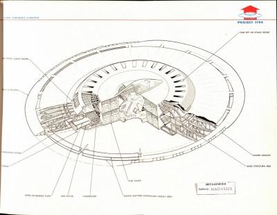 Flying Saucer Cutaway